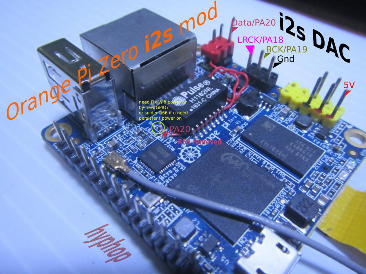 I2S on Orange Pi H3 - Page 2 - Research guides & tutorials - Armbian