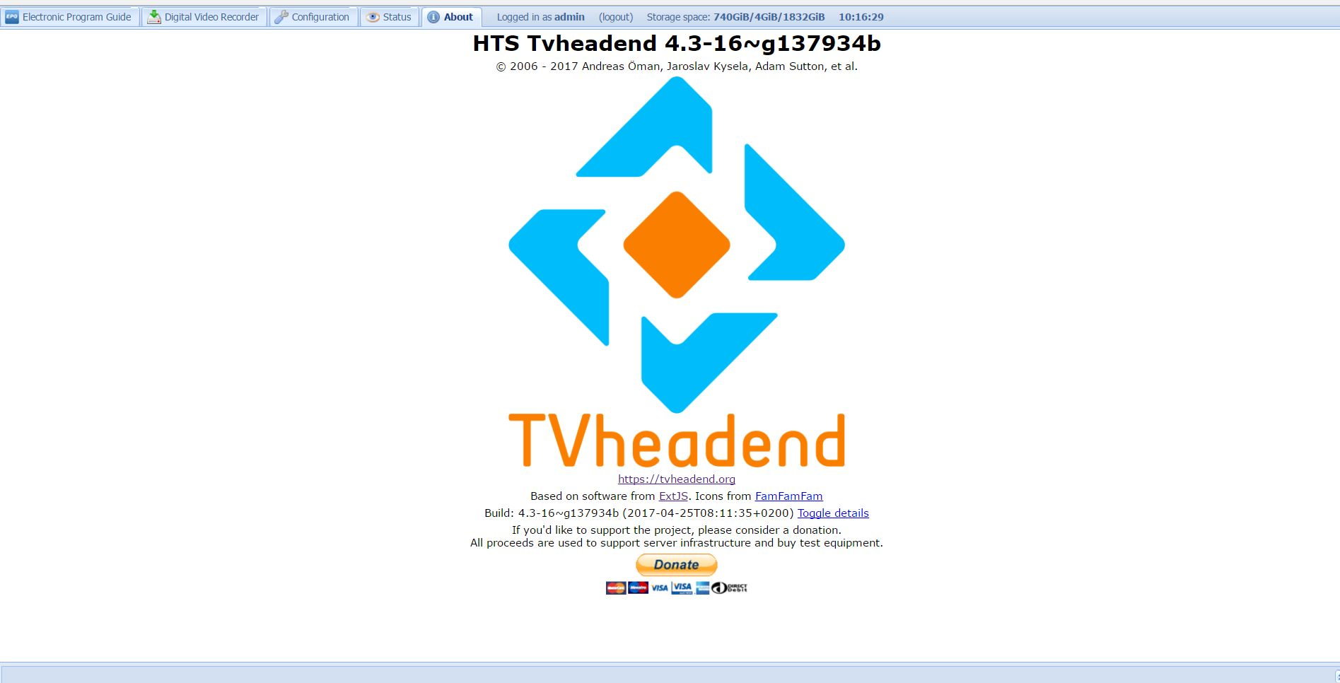 TVHeadend on OpiPC - Common issues - Armbian forum