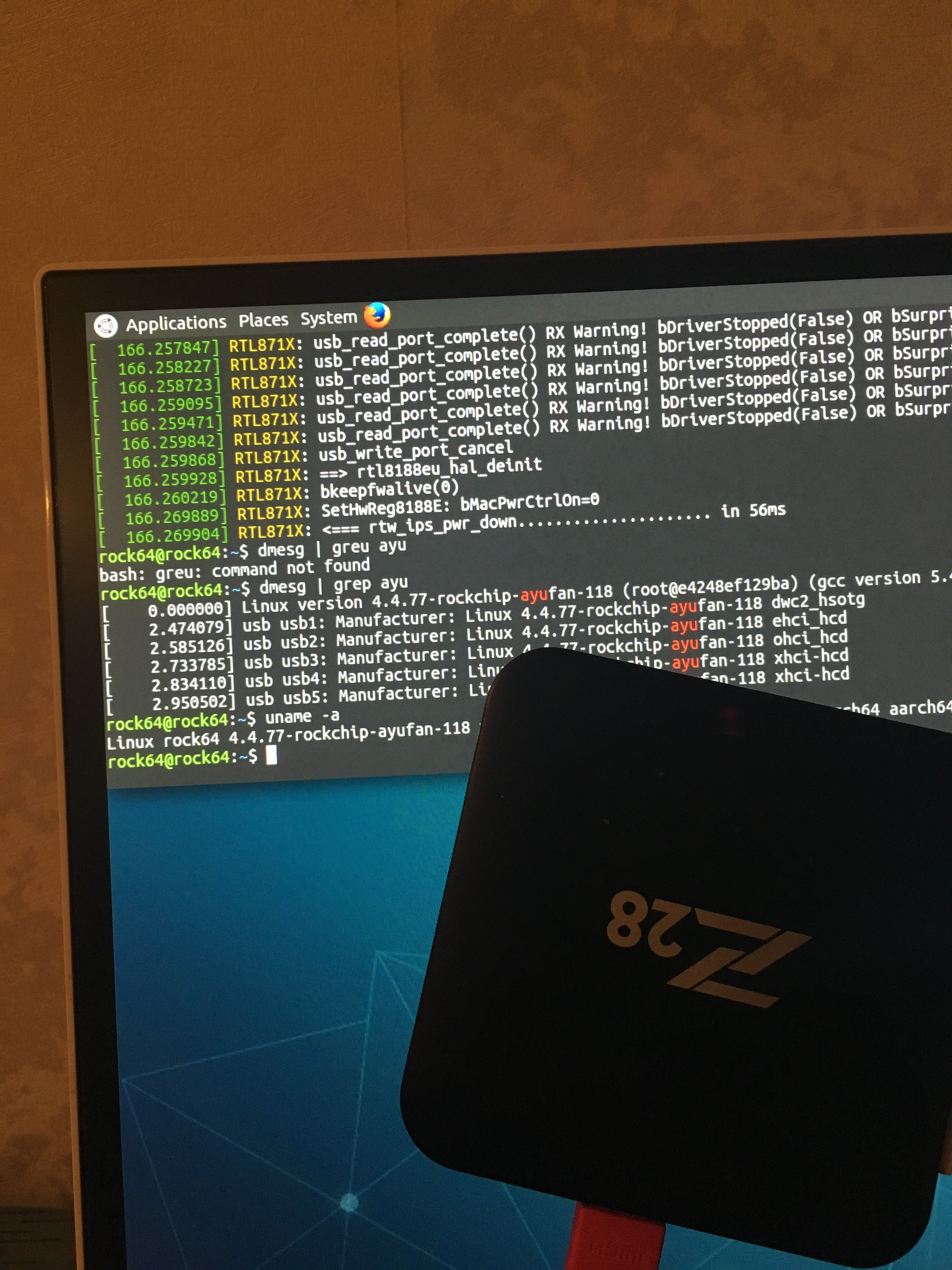 Armbian for tv box Z28 - Page 2 - TV boxes - Armbian forum
