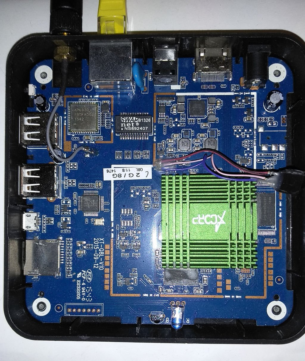 CSC Armbian for RK3288 TV Box boards (Q8) - TV boxes