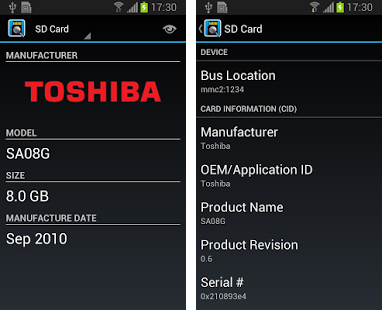 Android 7 Sd Karte.Is Your Sd Card A Fake Check With Sd Insight Android App